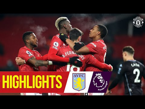 Martial & Fernandes put Reds level with Liverpool! | Manchester United 2-1 Aston Villa | Highlights