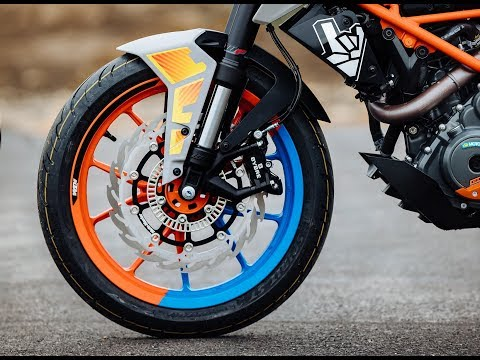 KTM Duke & KTM RC brake pads & discs by MOTO-MASTER