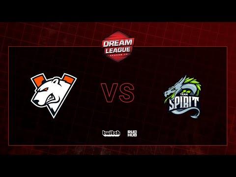 Virtus.pro Vs Team Spirit, DreamLeague S13 QL, Bo3, Game 1 [Maelstorm & Jam]