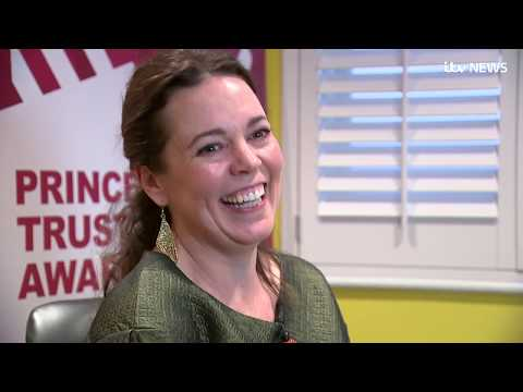 Prince Charles meets Olivia Colman, the latest actress to play his mother in The Crown  ITV