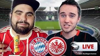 DFB-Pokal - Bayern München vs. Eintracht Frankfurt | Youtuber kommentieren live | Sportschau