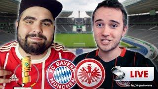 DFB-Pokal - Bayern München vs. Eintracht Frankfurt | Youtuber kommentieren live