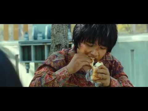 The Flu (Korean Movie) scene where the child Mirre meets 'Mossai' ( Train To Busan )