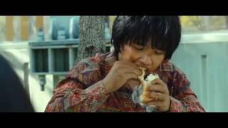 "The Flu (Korean Movie) scene where the child Mirre meets ""Mossai"" ( Train To Busan )"