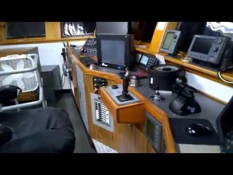 Wheelhouse of an Offshore Boat