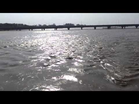 River Cauvery at Srirangam