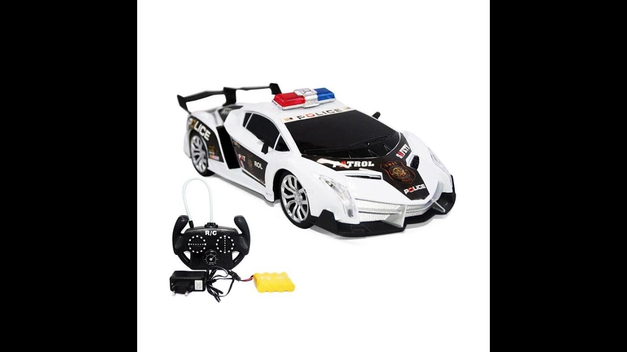 police rc toy car remote control rc police car toy remote control car youtube