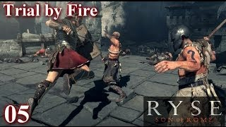 (5) Ryse Son of Rome Walkthrough Chapter 3 - Trial by Fire (XBOX ONE - ITA)