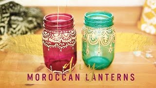Bohemian Room Decor: Diy Moroccan Lanterns