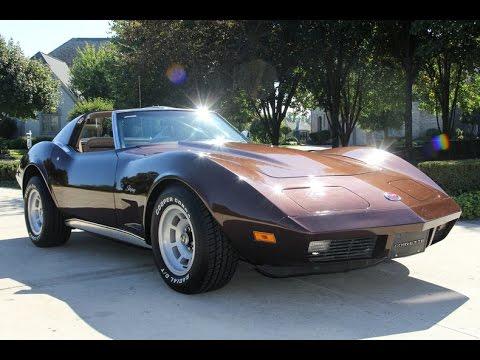 1974 Chevrolet Corvette Stingray T-Top For Sale