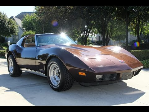 1974 chevrolet corvette stingray t top for sale youtube. Black Bedroom Furniture Sets. Home Design Ideas