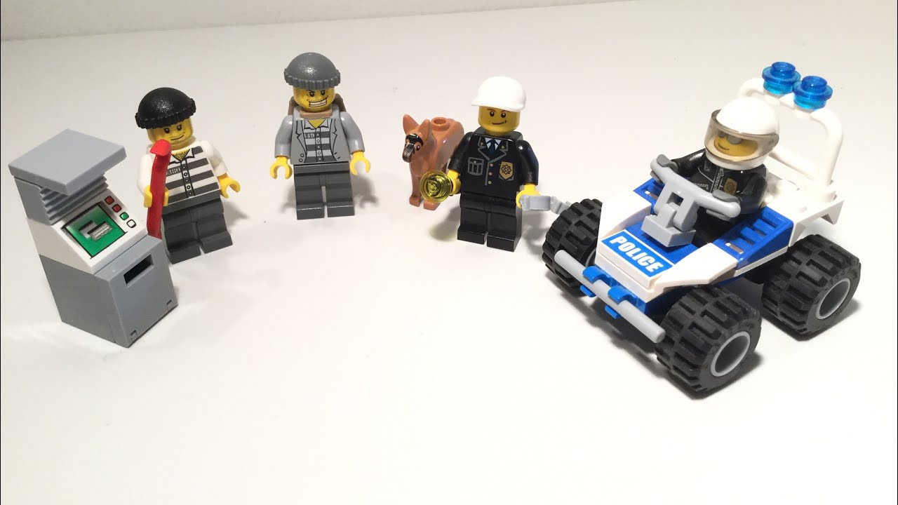 Lego City 7279 Police Minifigure Collection Lego Speed Build