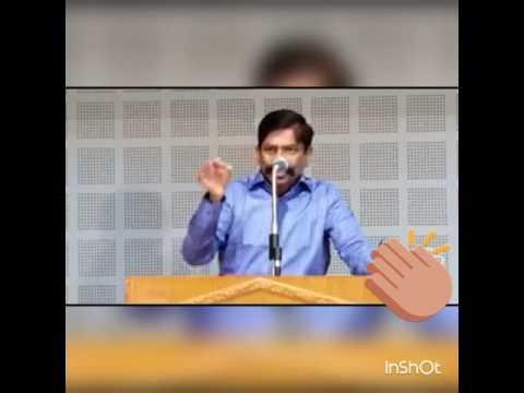 The great Motivational speech by Mr. Kaliyamoorthy