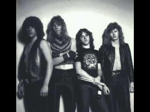 Metallica The Mechanix 1982) Studio