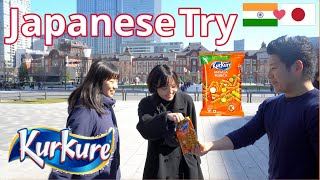 Japanese People Try KURKURE for the...