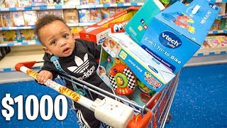 Baby Buys Everything in Toy Shopping Spree