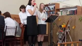 Юлия Бондарь и Аня Скородинская - Величит душа моя Господа