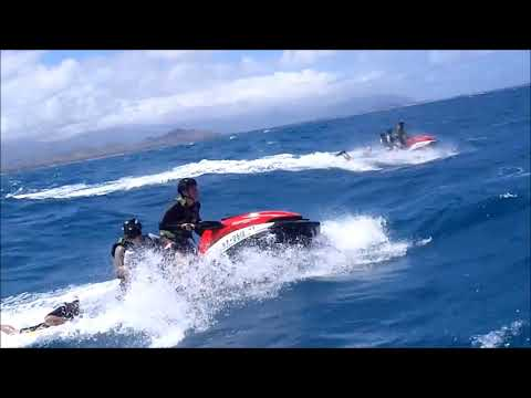 Hawaii Jet Ski Training - 4 POB offshore rough water
