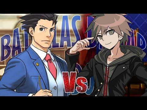 Naegi Makoto vs Phoenix Wright || Batallas de Rap Random T2 || Midoriya