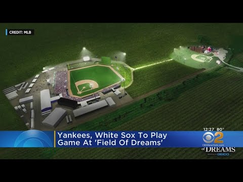 Rachel Lutzker - A REAL MLB Game at The Field of Dreams is Gonna Happen!