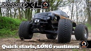 Savage XL Octane Part 1: Quick starts & LONG Runtimes