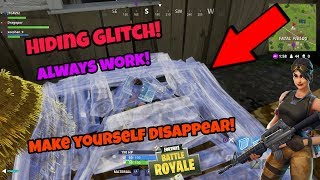 Fortnite Battle Royale Glitch (New) Disappear anywhere PS4/Xbox one
