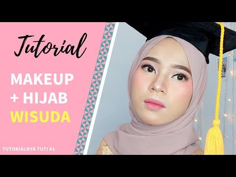 Video Tutorial Hijab Pesta Wisuda Menutup Dada