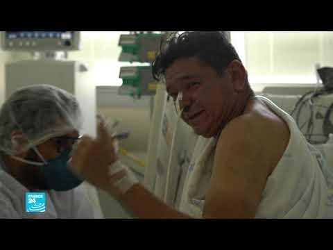 فيروس كورونا: مستشفيات البرازيل تعاني من نقص الأسرة والأجهزة الطبية