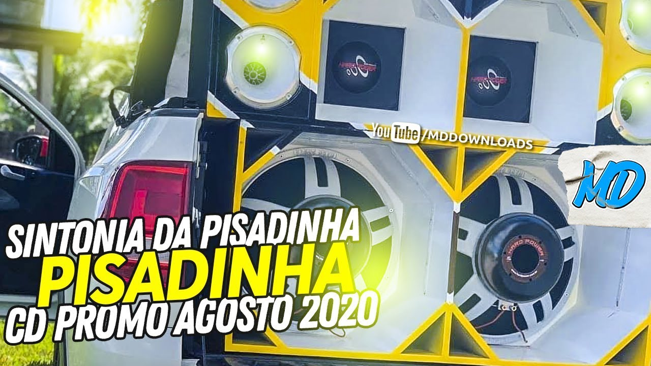 SINTÔNIA DA PISADINHA - CD PROMOCIONAL AGOSTO 2020 (PRA PAREDÃO)