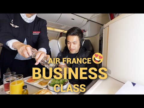Air France Business Class | Boeing 777-300