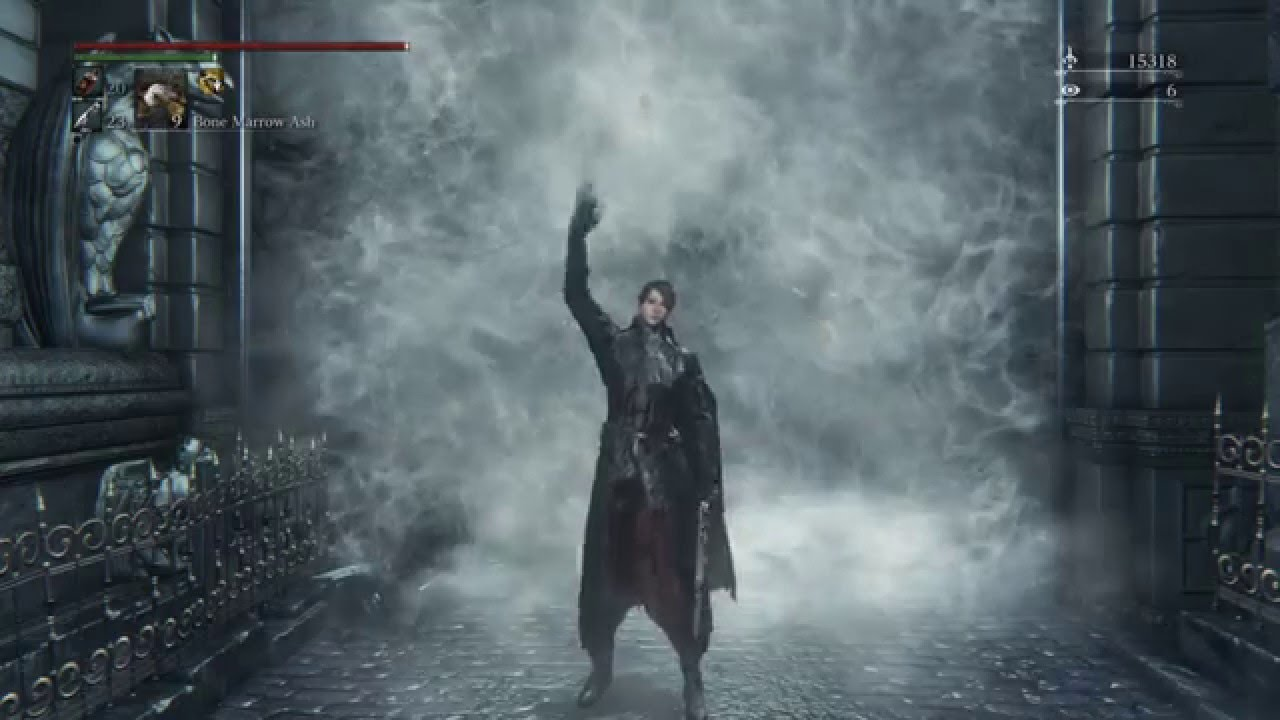 bloodborne simons bowblade only part 1 gascoigne ng 3 youtube