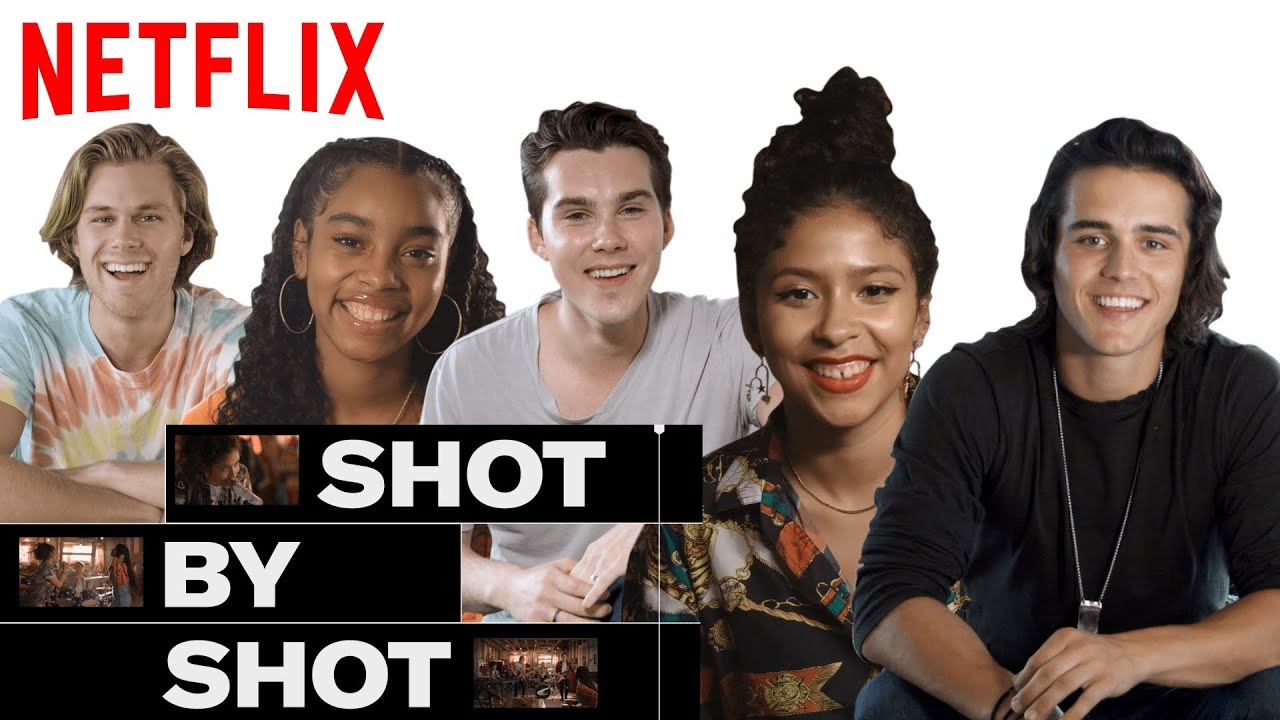 Julie & The Phantoms Break Down 'Flying Solo' Rehearsal Scene | SHOT BY SHOT | Netflix