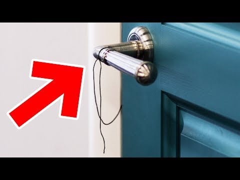 If You See a Thread on Your Door Handle, Call the Police!