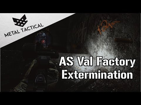 Quick Factory Clear with the AS VAL - Escape From Tarkov Gameplay