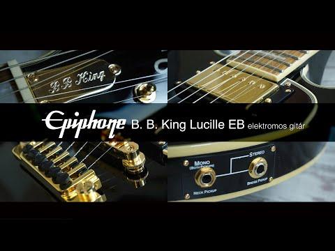 Epiphone B. B. King Lucille EB elektromos gitár