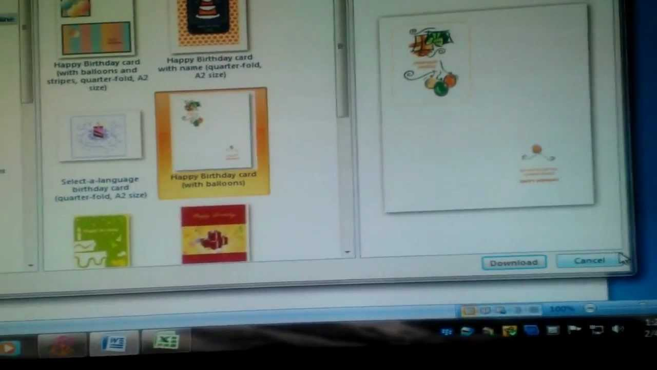 How To Make A Birthday Party Invite With Microsoft Word YouTube - Birthday invitation in word