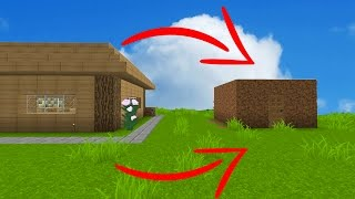 SWAPPING PLAYERS HOUSES WITH EACHOTHER (Minecraft Trolling)