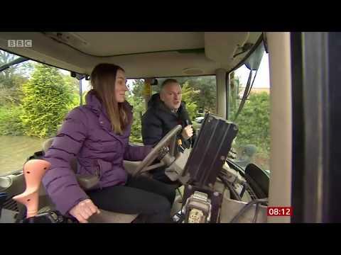BBC Breakfast 13th November 2019.  Flooding In Fishlake.  Ian White Reports.