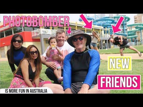 KIARAH AT THE BEACH | MET NEW FRIENDS | Day 305 in Australia VLOG