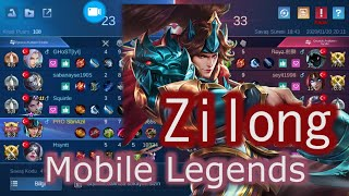 Dik duruЕџuyla Zilong   Mobile Legends