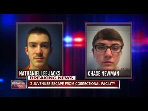 Two juveniles escape from correctional facility