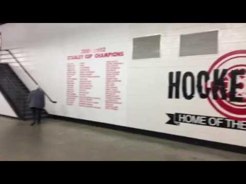 The Joe Louis hallway