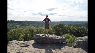 Hiking and Camping Garden of the Gods(Illinois) cinematic video