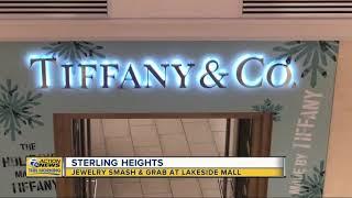 Jewelry smash and grab at Lakeside Mall in Sterling Heights