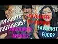 UNI BEST FRIENDS TAG | Fav T.V Shows? Fav Youtubers? IBZ, HARSHIAH & MARTINA
