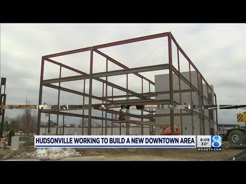 New downtown Hudsonville taking shape