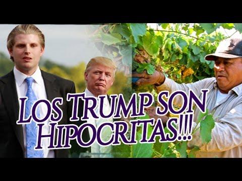 Hijo de Donald Trump HIPOCRITA, Eric Trump Contrata 29 Trabajadores Extranjeros Migrantes