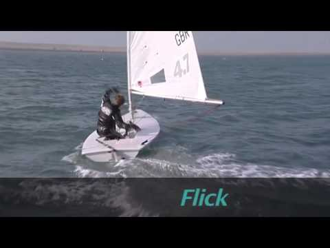 Laser Sailing Top Tips - Gybing - With Double Olympic Gold Medallist Shirley Robertson