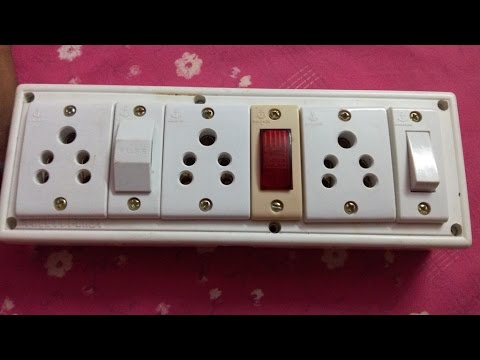 How To Make An Electric Extension Box Board