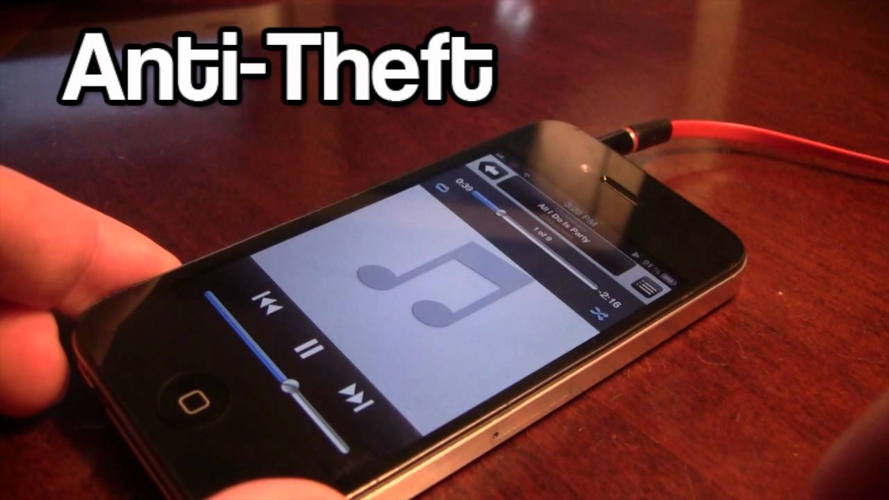 on sale e2be6 33c10 Anti-Theft - Protect your iPhone From Thieves (Cydia Tweak)